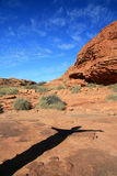 watarrka национального парка королей каньона Австралии Стоковая Фотография RF