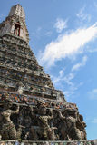 Watarun of thailand. Disabled Or commonly referred to in English , says a report , known simply as Wat Arun, an ancient temple built in the Ayutthaya period Stock Photo