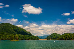 Free Watauga Lake, In  Cherokee National Forest, Tennessee. Stock Image - 47670761