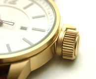 Watch. With very large winder Stock Photo