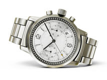 Watch. Luxury watch isolated on a white background Stock Photography