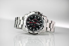 Watch. Wristwatch on a light background Stock Photography