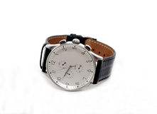 Watch. Wrist watch luxury second hour minute Royalty Free Stock Image