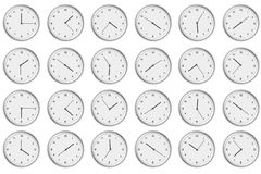 Watch background Royalty Free Stock Photos