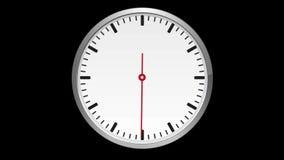 watch Begagnade flyttningar exakt en minut, inget nummer vektor illustrationer