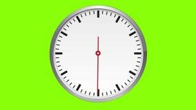 watch Begagnade flyttningar exakt en minut, inget nummer stock illustrationer