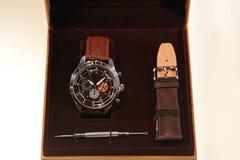 Watch box Stock Image