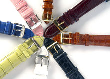 Watch bracelet Stock Images