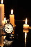 Watch And Candles Royalty Free Stock Photo