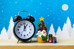Watch and Children toys for christmas decoration. Stock Images