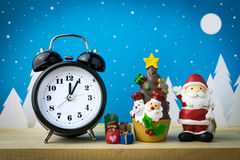 Watch and Children toys for christmas decoration. Stock Image