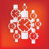 Watch,clock icon Royalty Free Stock Image