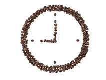 watch of coffee beans  Stock Photo