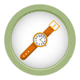 Watch colorful icon Royalty Free Stock Photography