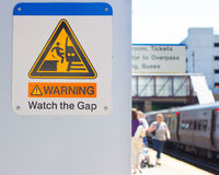 Watch The Gap Royalty Free Stock Photo