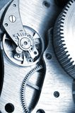 Watch gears Stock Photos