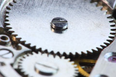 Watch gears Royalty Free Stock Photos