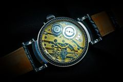 Swiss Mechanical Watch Royalty Free Stock Photo