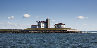 Watch Hill Lighthouse Royalty Free Stock Images