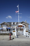 Watch Hill Yacht Club in Rhode Island Stock Photography