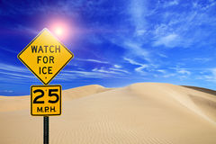 Watch for ice Royalty Free Stock Photo