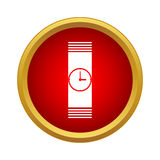 Watch icon in simple style Stock Photo