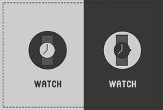 Watch Illustration. A clean and simple watch illustration Stock Photo