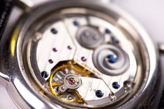 Watch interior detail Stock Images