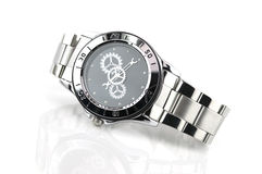 Watch isolated on a white background Stock Images