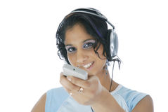 Watch and listen! Royalty Free Stock Image