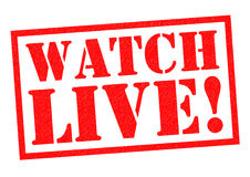 WATCH LIVE! Stock Photo