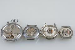 Watch machinery macro detail. Royalty Free Stock Photography