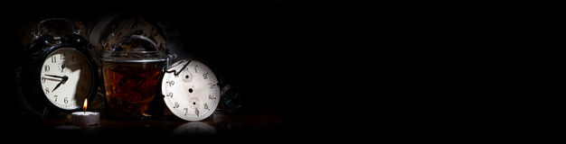 Watch maker of the time Stock Photo