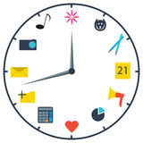 The watch of marketer Stock Images