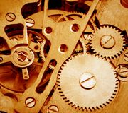 Watch mechanism Royalty Free Stock Photo