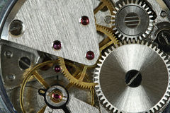 Watch mechanism Stock Photos