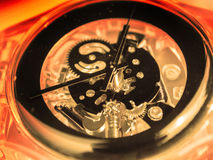 Watch mechanism Stock Photo