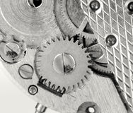 Watch mechanism details Royalty Free Stock Photos
