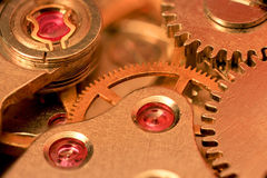 Watch mechanism Royalty Free Stock Photos