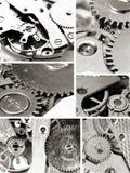 Watch mechanism gears Stock Photo