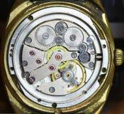 Watch mechanism Stock Image