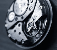 Watch mechanism Royalty Free Stock Image