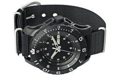 Watch military wrist Stock Photos