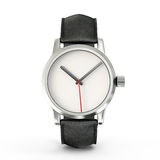 Watch. Modern watch  on a white background Stock Photos