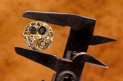 Watch Movement. Photo of a Watch Movement Stock Images