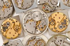 Watch Movement Stock Photography