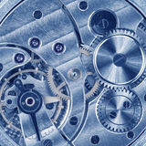 Watch movement. Macro photo of a watch movement Stock Images