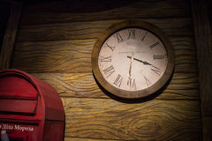 Watch that otsschityvayut time for the new year. Royalty Free Stock Photography