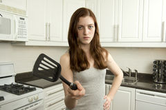 Watch out! I am mad! Stock Image