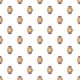 Watch pattern seamless Royalty Free Stock Photography
